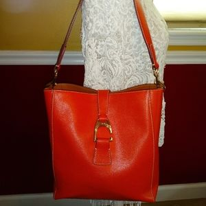 DOONEY & BOURKE GERANIUM SAFFIANO BAG